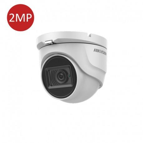 2 MP Audio Fixed Turret Camera