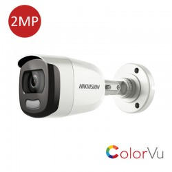 CAMERA THD 2MP IR 20m COLORVU DS-2CE10DFT-F