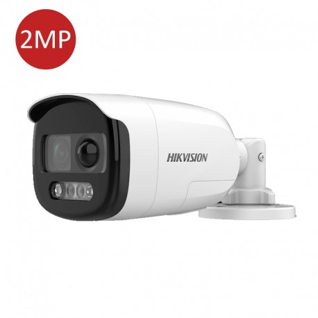 2 MP PIR Siren Fixed Bullet Camera