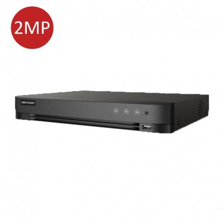 4-ch 1080p 1U H.265 DVR