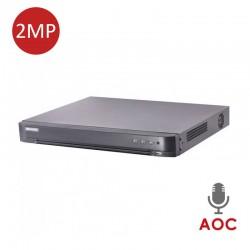 XVR 4-CH 2MP 10TB AOC DS-7208HQHI-K1/E(S)