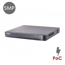 XVR 4-CH 5MP 10TB POC DS-7204HUHI-K1/P