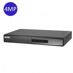 NVR 4-CH 4MP 6TB DS-7204 NI-Q1/M/ECO